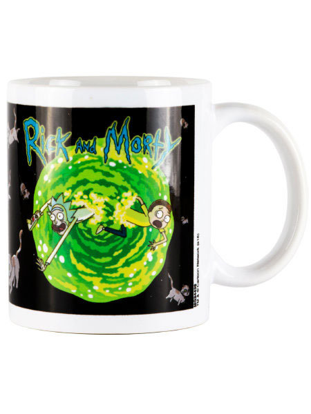 Rick and Morty Official Adult Swim Mug - Floating Cat