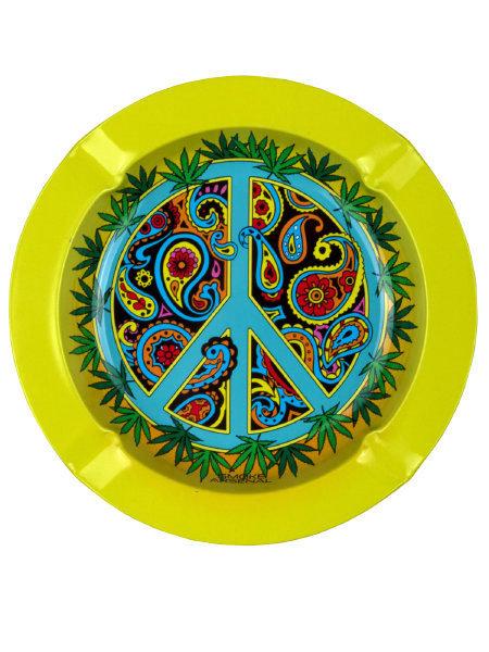 Smoke Arsenal Inner Peace Metal Ashtray