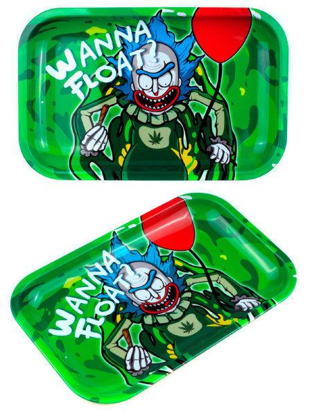 Smoke Arsenal Wanna Float Small Metal Rolling Tray