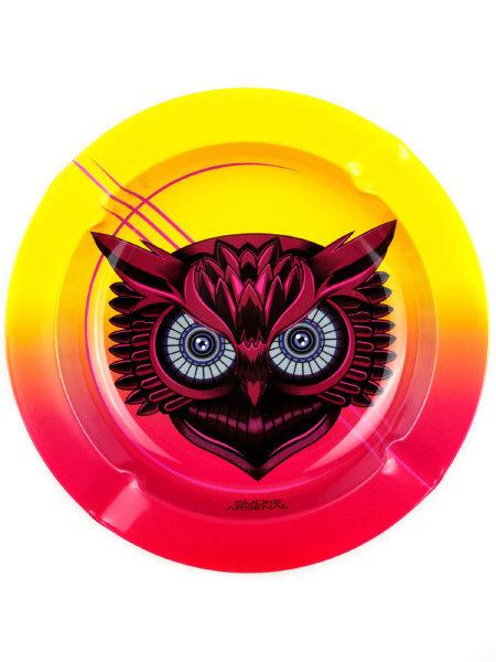 Smoke Arsenal Late Owl Metal Ashtray