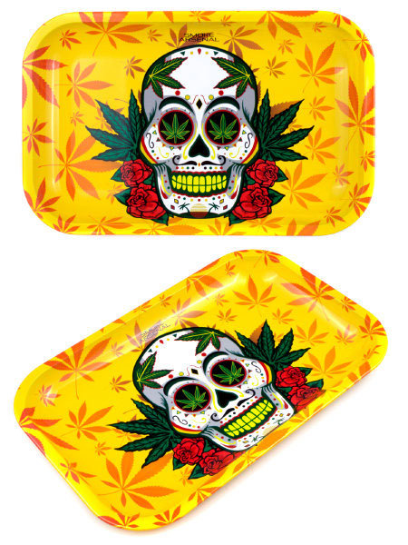 Smoke Arsenal Skull & Stoned Small Tray