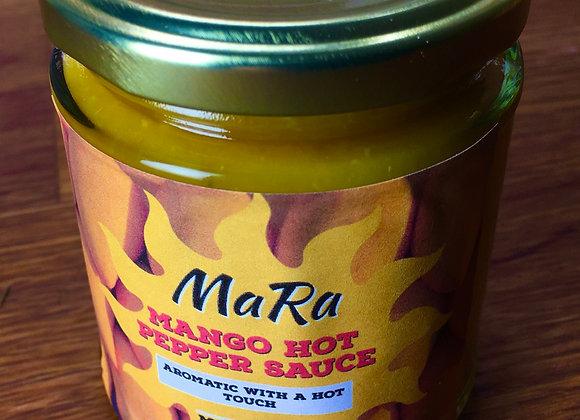 Mango hot pepper sauce