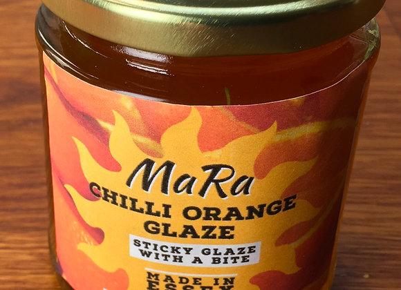 Chilli orange glaze
