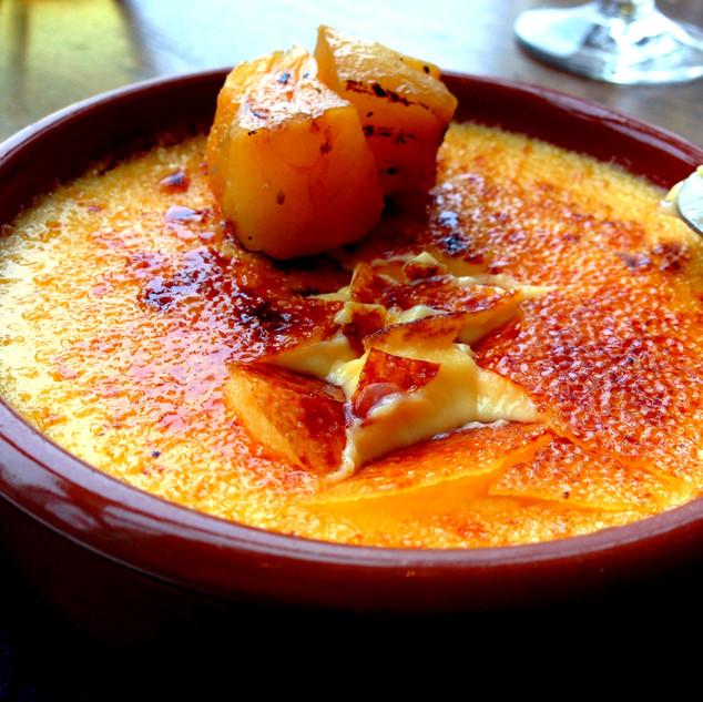 Crème brûlée au Turon