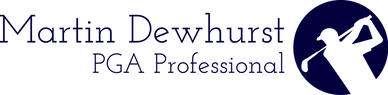 Martin Dewhurst PGA Professional Logo
