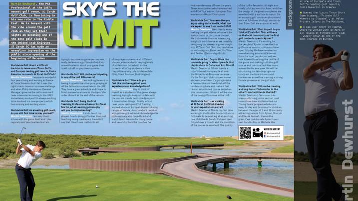 Worldwide Golf Article