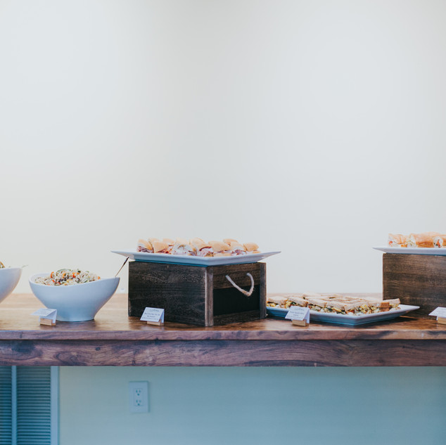 Catering by WHIM Hospitality