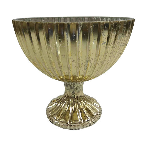 Gold Lining Mercury Bowl - TF7272G