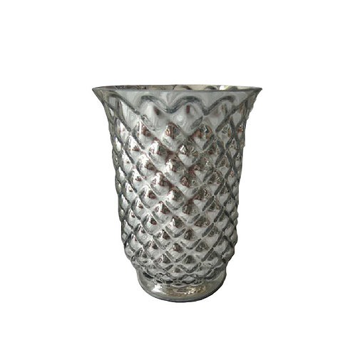 Silver Hoosier Vase - GH456S