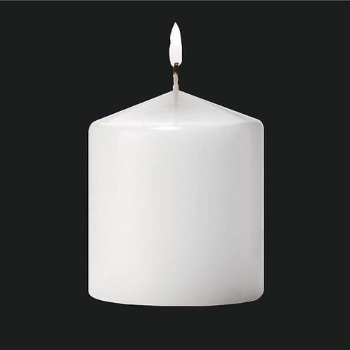 "3"" White Pillar Candle - PC303"