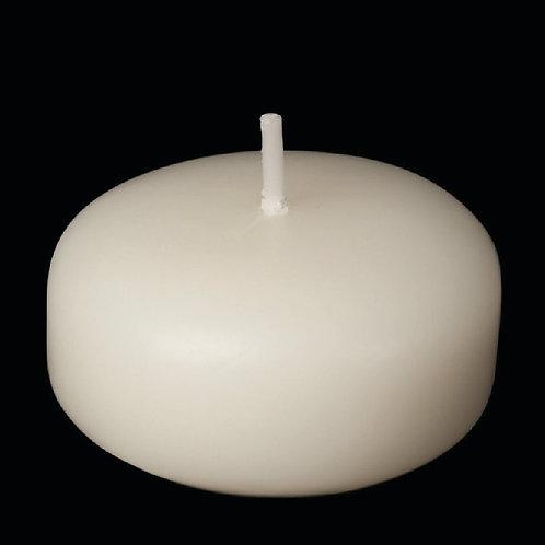 """2"""" Ivory Floating Candle - FC-2I"""