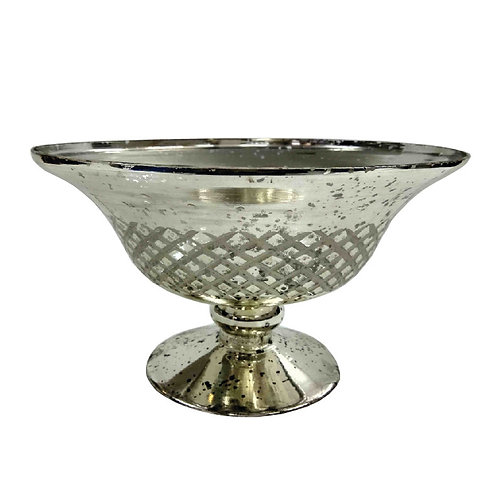 Silver Detailed Bowl - TF926S