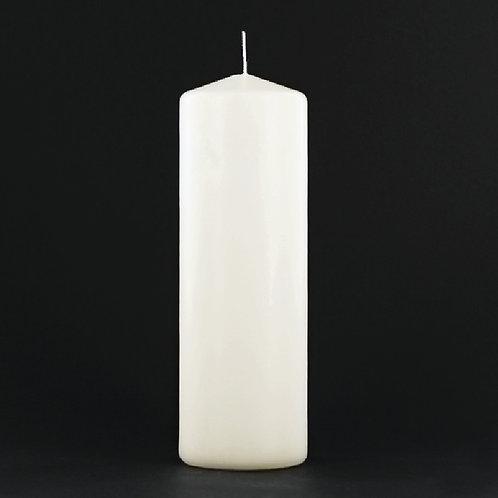"9"" Ivory Pillar Candle - PC309IV"