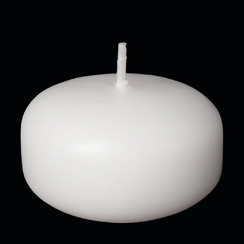 "2"" White Floating Candle - FC-2W"