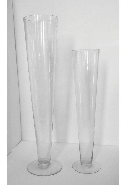"""Pilsner Vase 30""""H - Z30"""