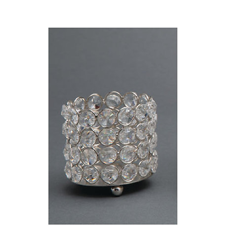 Crystal Beaded Cylinder - MMC303