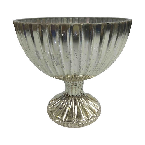 Silver Lining Mercury Bowl - TF7272S