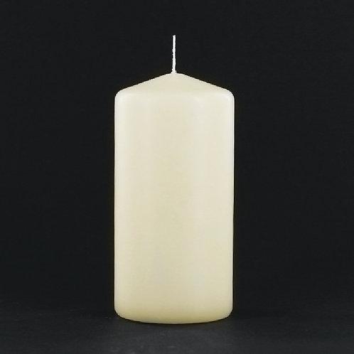 "6"" Ivory Pillar Candle - PC306IV"