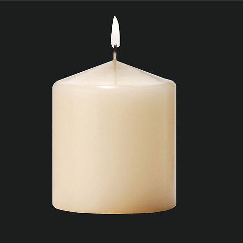 "3"" Ivory Pillar Candle - PC303IV"