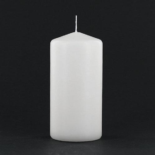 "6"" White Pillar Candle - PC306"