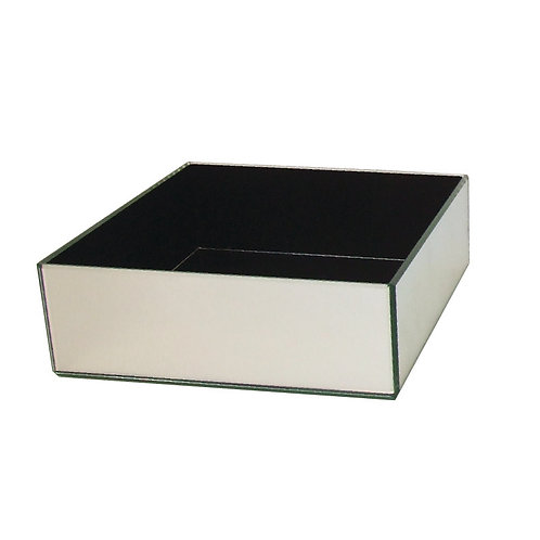 Mirror Rectangle Flat Vase - VM-399