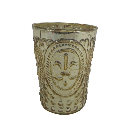 Gold Lili Design Votive - AHG0354G