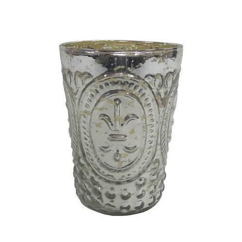 Silver Lili Design Votive - AHG0354S