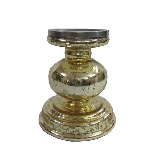 Gold Mercury Pedestal - TF676G