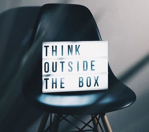 Think outside of the box!