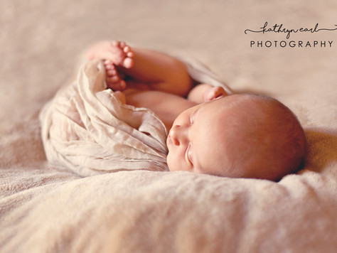 Newborn Photography in Surrey - 5 day old baby Neve