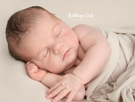 Baby Charlie - Newborn Photography in Bournemouth