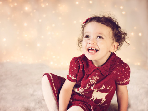 Christmas in September - Photographing Little Angels for my Christmas Promotion