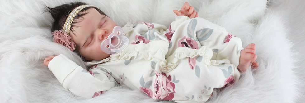 Reborn Baby TWIN A by Bonnie Brown Ready to Ship!