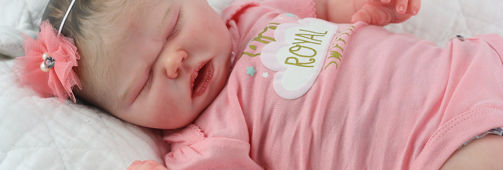 Realborn Harlow by Bountiful Baby Ready to Ship!