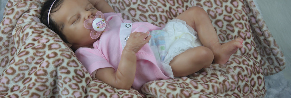 Reborn Baby TWIN B by Bonnie Brown Ethnic Biracial Latina Ready To SHIP