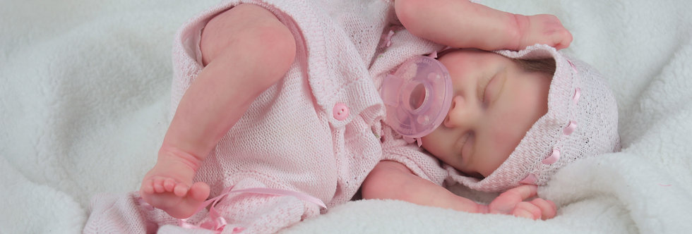 Reborn Baby TWIN A by Bonnie Brown Additional Belly Plate