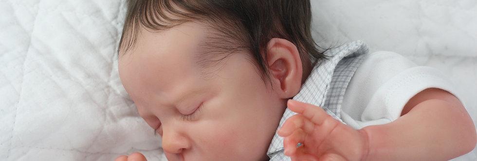 Reborn Baby Mia By Irina Kaplanskaya Beautifully Sculpted with Hair
