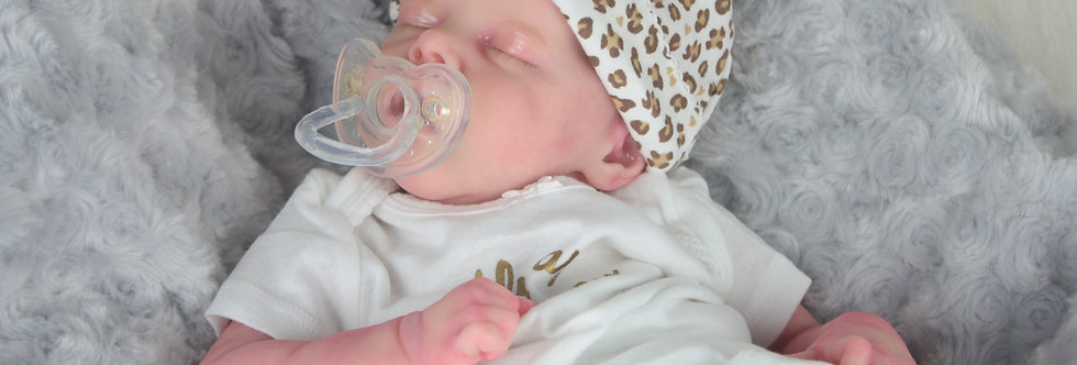 Reborn Baby TWIN A by Bonnie Brown Bald to be made