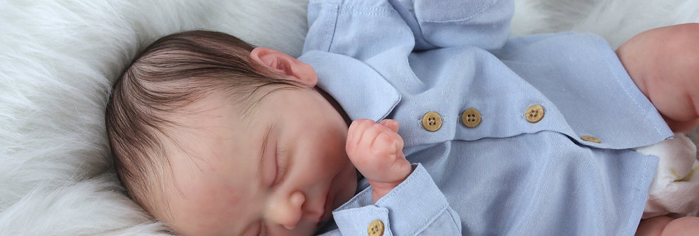 Reborn Baby Doll Chase sculpted by Bonnie Brown Ready to Ship