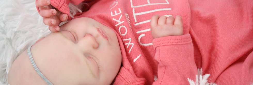 Realborn Sleeping Twin Macey Reborn Baby Doll NO HAIR  Ready to Ship