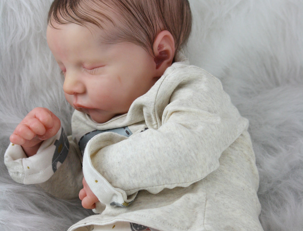 Reborn Baby LEVI sculpted by Bonnie Brown Ready to Ship!