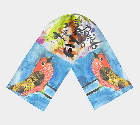 WINGS TO FLY- Scarf/Wrap