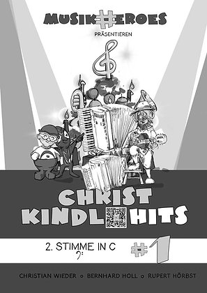 Christkindl-Hits #1 / Begleitstimme in C als DOWNLOAD