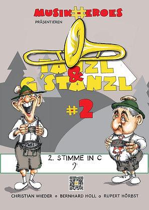 Tanzl & G'stanzl #2 / 2.Stimme in C als DOWNLOAD