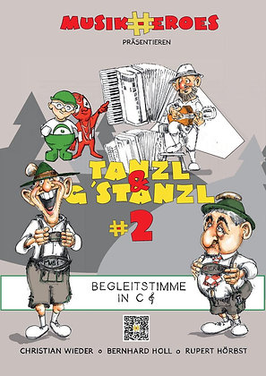 Tanzl & G'stanzl #2 / Begleitstimme in C als DOWNLOAD