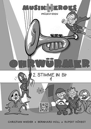Ohrwürmer #1 / 2.Stimme in Bb als DOWNLOAD