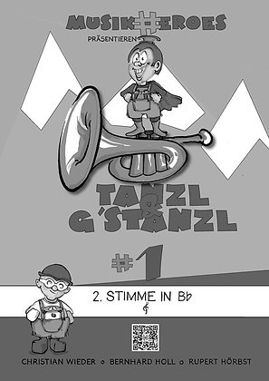 Tanzl & G'stanzl #1 / 2.Stimme in Bb als DOWNLOAD