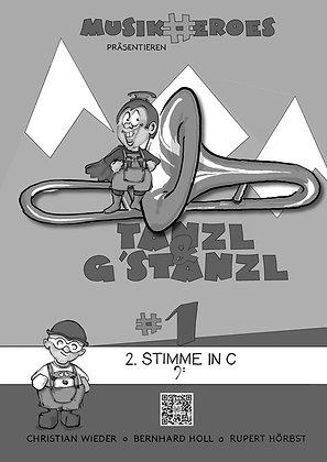 Tanzl & G'stanzl #1 / 2.Stimme in C als DOWNLOAD
