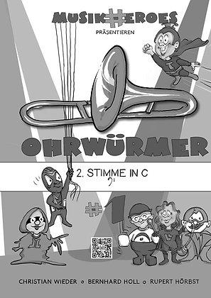 Ohrwürmer #1 / 2.Stimme in C als DOWNLOAD