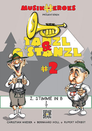 Tanzl & G'stanzl #2 / 2.Stimme in Bb als DOWNLOAD